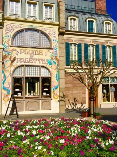 L'Artisan des Glaces Review france pavilion flowers