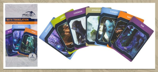 Na'vi Translator Device trading cards