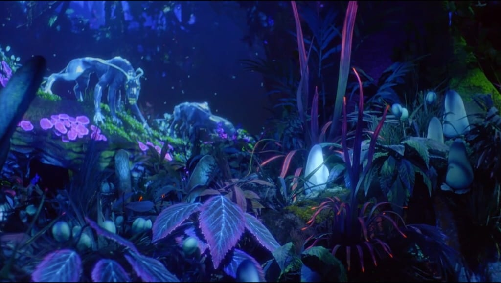 avatar the blue creatures of pandora A hybrid human-alien called an avatar is created to facilitate communication with the indigenous na'vis from the planet pandora and pave the way for large-scale mining of the planet.