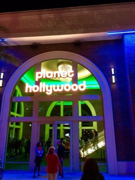 Planet Hollywood Observatory Celebrities Entrance