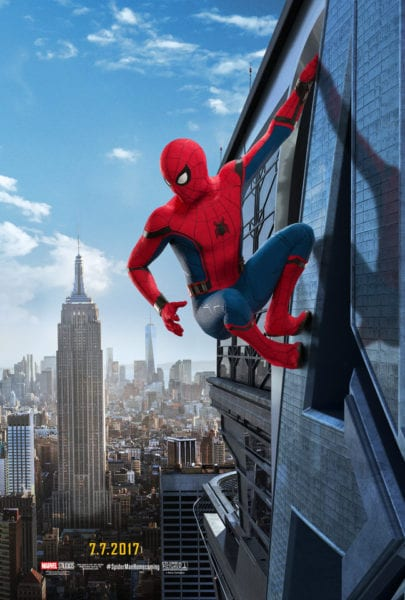 Spider-Man Homecoming Trailer and Posters
