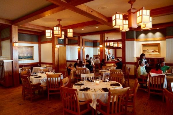 Yachtsman Steakhouse Full Review main dining room