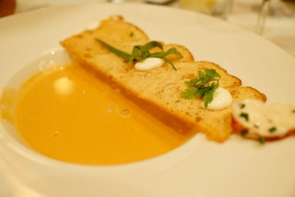 Yachtsman Steakhouse Full Review lobster bisque