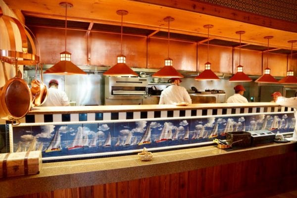 Yachtsman Steakhouse Full Review open kitchen