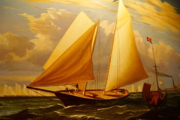 Yachtsman Steakhouse Full Review yacht painting