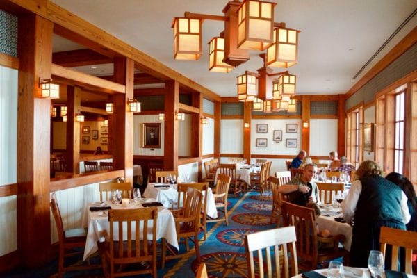 Yachtsman Steakhouse Full Review side dining room