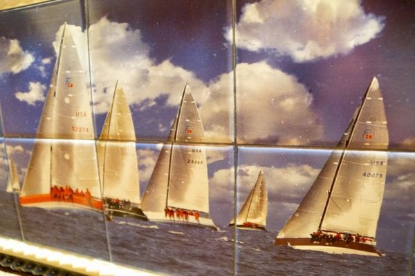 Yachtsman Steakhouse Full Review yachts tiles