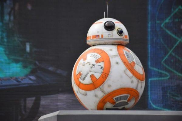 BB-8 at Star Wars Launch Bay