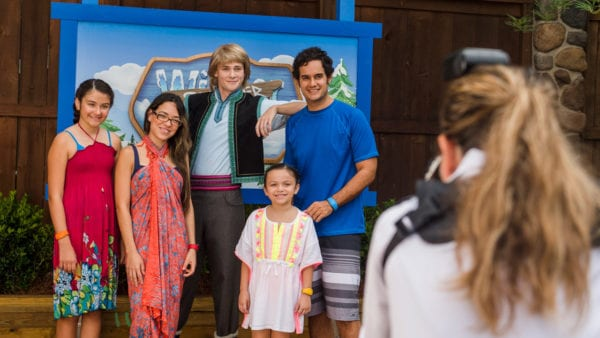 Frozen Summer Games meet and greet
