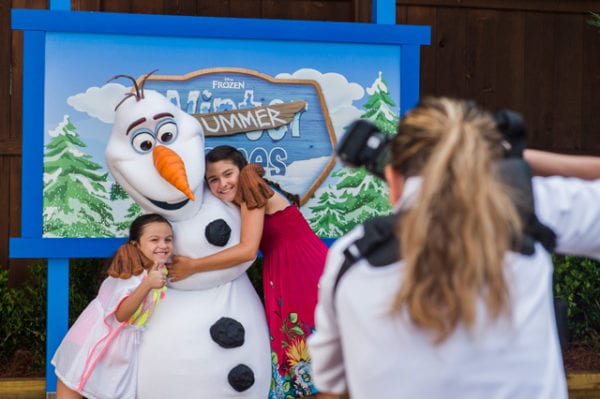 Frozen Summer Games olaf