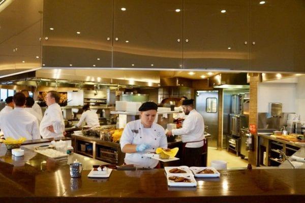 California Grill Open Kitchen Chefs