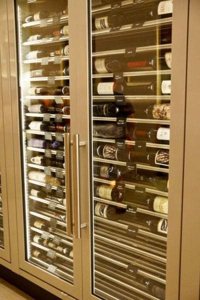 California Grill Wine Refrigerator side