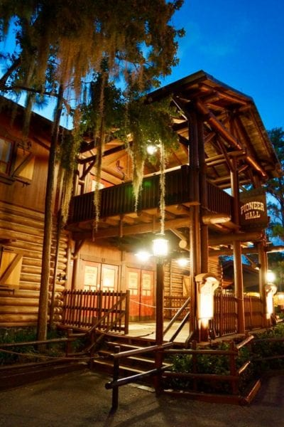 Disney's Fort Wilderness Campground Pioneer Hall