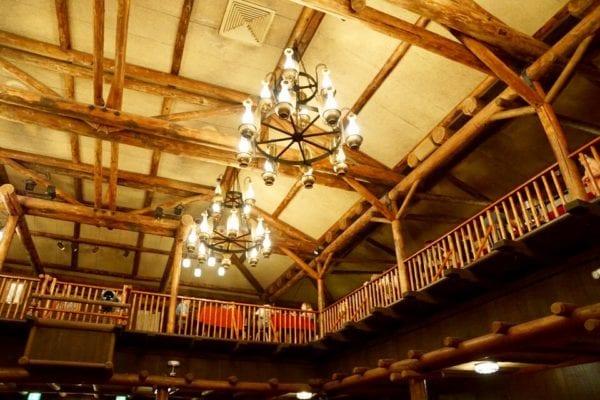 Hoop Dee Doo Musical Revue Chandelier and Ceiling
