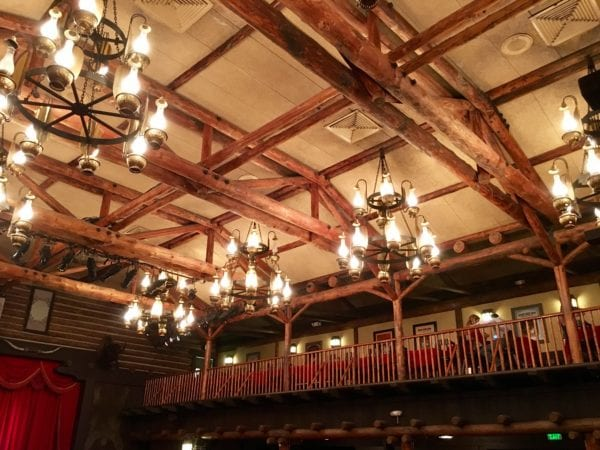 Hoop Dee Doo Musical Revue Full Review Main Dining Hall Ceiling