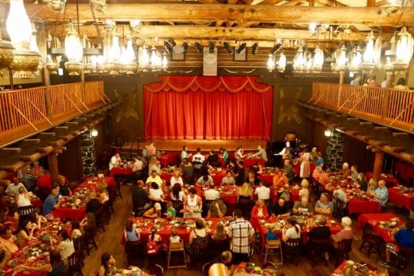 Hoop Dee Doo Musical Revue Full Review Main Dining Hall Upper View