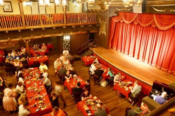 Hoop Dee Doo Musical Revue Full Review Stage Upper View