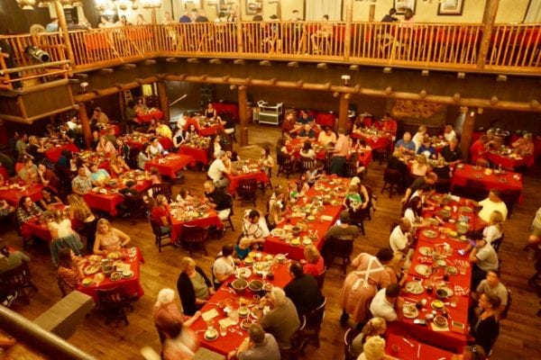 Hoop Dee Doo Musical Revue Full Review Main Dining Hall Upper View 2