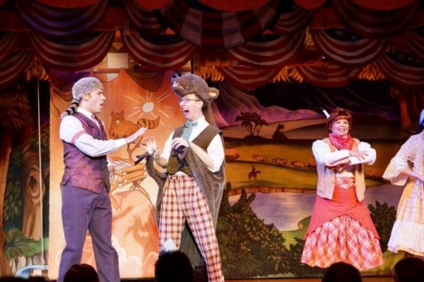 Hoop Dee Doo Musical Revue Full Review performers bear skin
