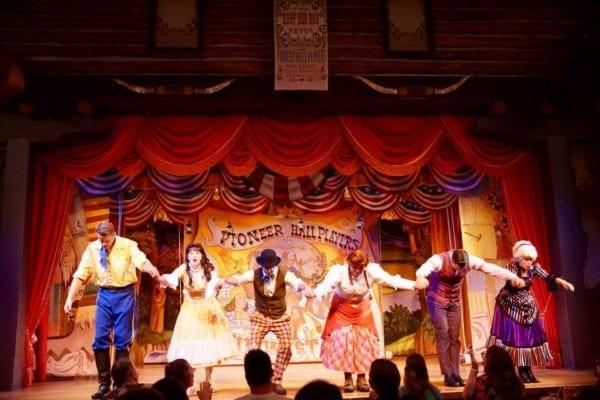 Hoop Dee Doo Musical Revue Full Review performers bow