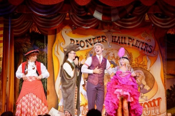 Hoop Dee Doo Musical Revue Full Review performers vonunteer dancer