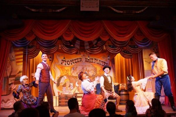Hoop Dee Doo Musical Revue Full Review Show performer