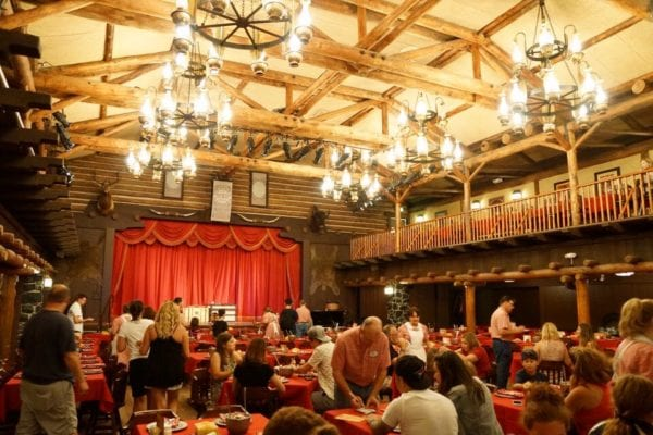 Hoop Dee Doo Musical Revue Dining Hall Back View