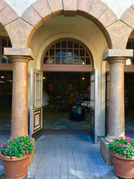 Les Halles Boulangerie Patisserie Arches Doorway