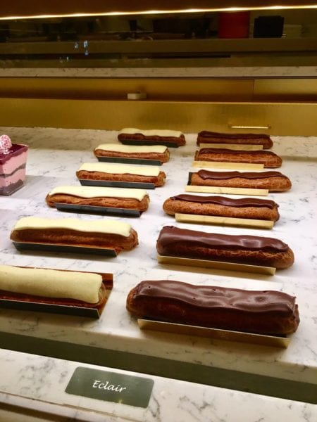 Les Halles Boulangerie Patisserie Bakery Review Eclairs