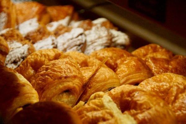 Les Halles Boulangerie Patisserie Review Croque Monsieur Croissants