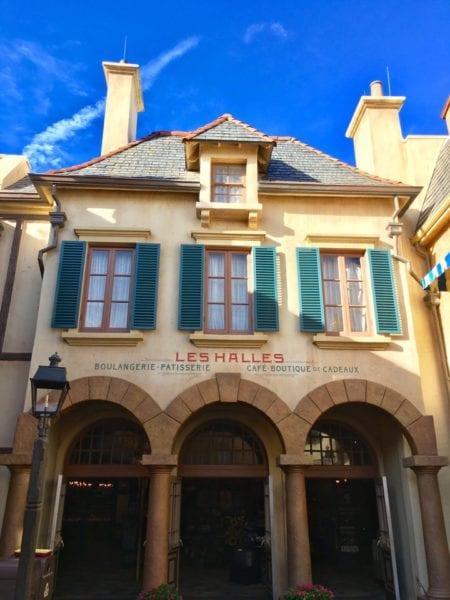 Les Halles Boulangerie Patisserie Outside Epcot