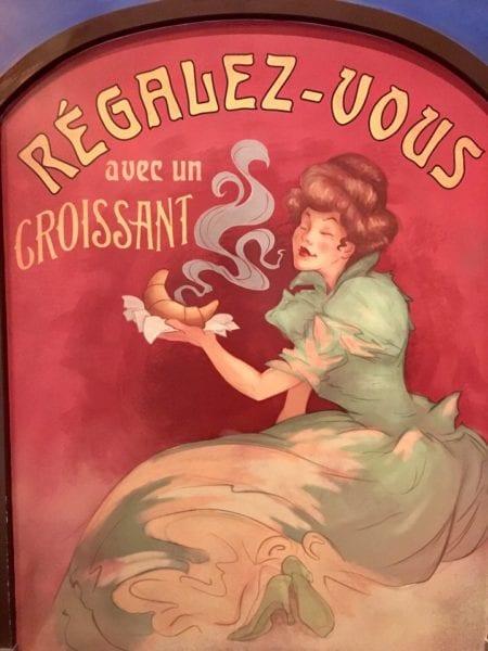 Les Halles Boulangerie Patisserie Poster