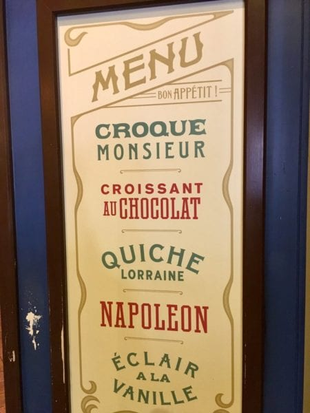 Les Halles Boulangerie Patisserie Sign