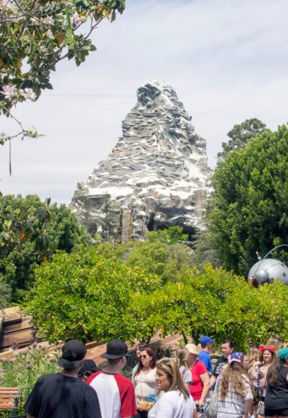 Matterhorn Bobsleds FastPass Open in Disneyland Resort
