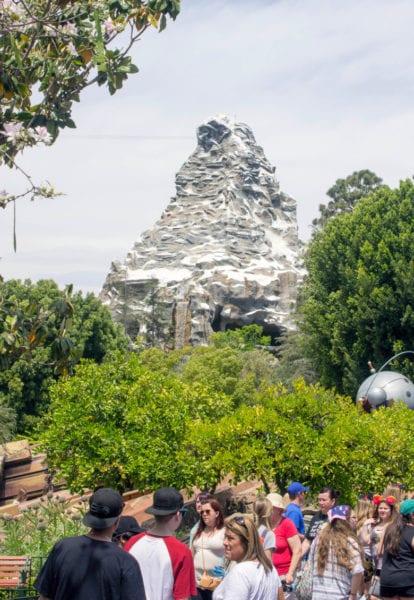 Matterhorn Bobsleds FastPass