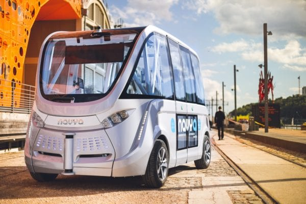 Driverless Shuttles Coming to Walt Disney World?