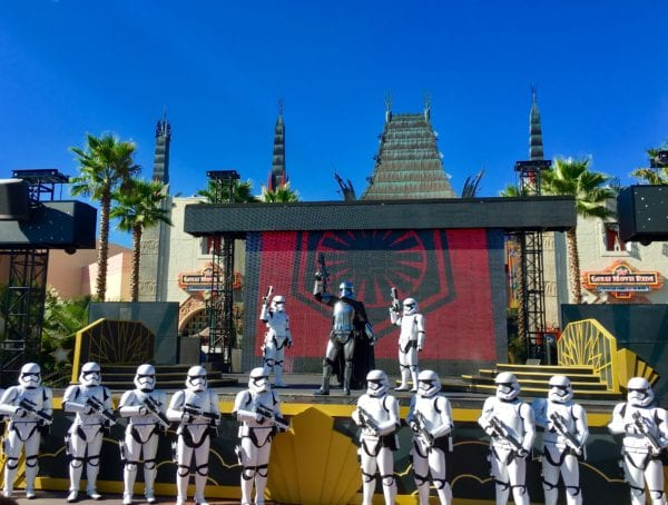 Star Wars Stage Show Changes