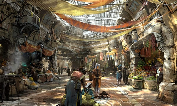 New Star Wars Land concept art
