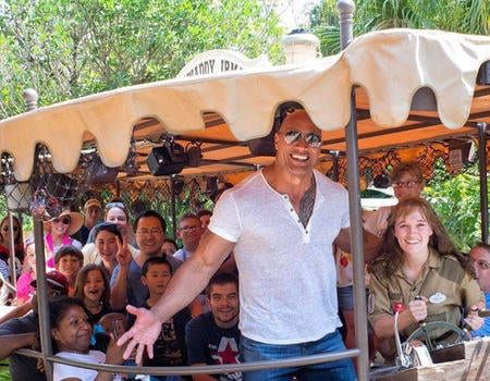 Dwayne Johnson Signs Contract for Jungle Cruise film