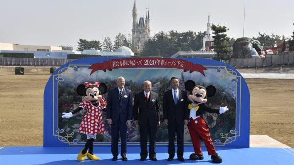 Tokyo Disneyland Expansion Begins