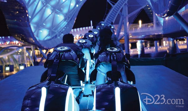 Tron Lightcycle Power Run Coming to Walt Disney World
