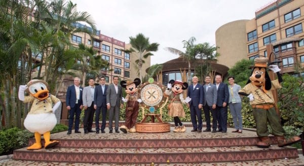 Disney Explorers Lodge Opening