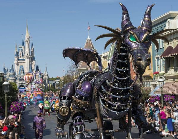 Festival of the Fantasy Parade Time