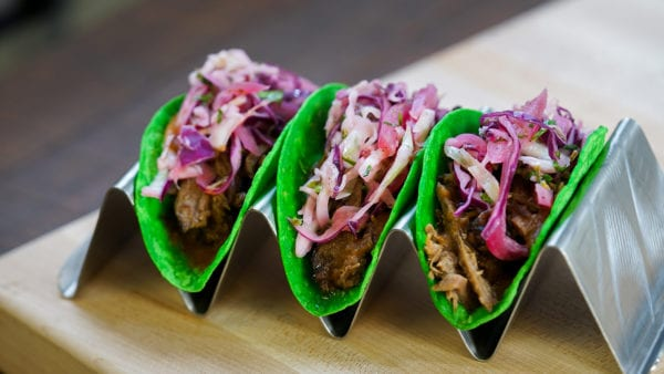 Summer of Heroes Food tacos