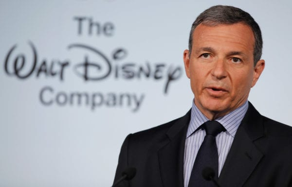 Bob Iger Likely to Renew Contract as Disney CEO if Fox Deal Goes Through