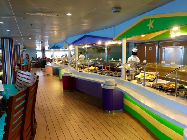 Disney Cruise Cabanas Lunch Review Buffet