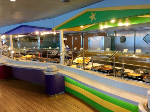 Disney Cruise Cabanas Lunch Review Buffet Close