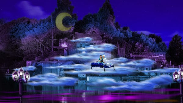 Fantasmic Returns to Disneyland