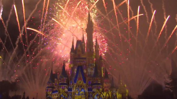 Happily Ever After Fireworks Debut