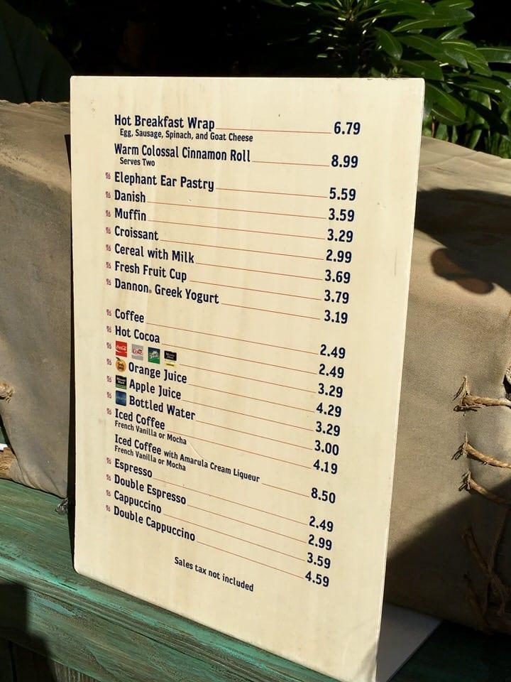 Kusafiri Coffee Shop And Bakery Review Ziggy Knows Disney